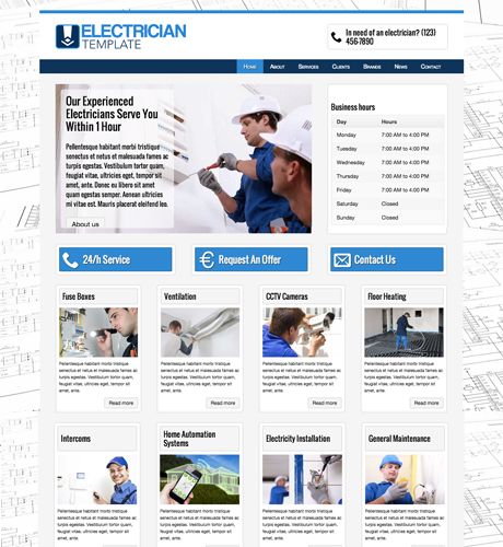 Electrician-Template