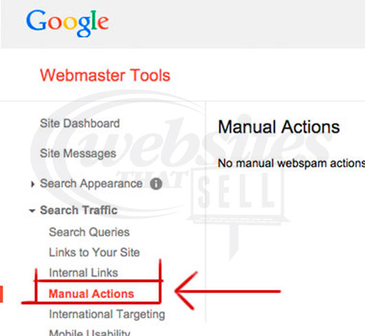 Click On Manual Actions