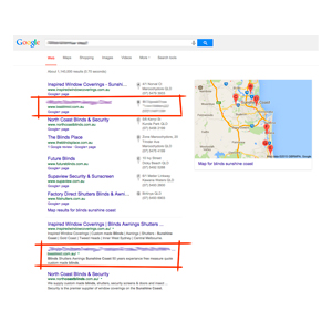 Top Spots For Local Keywords