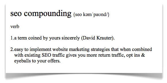 SEO Compounding